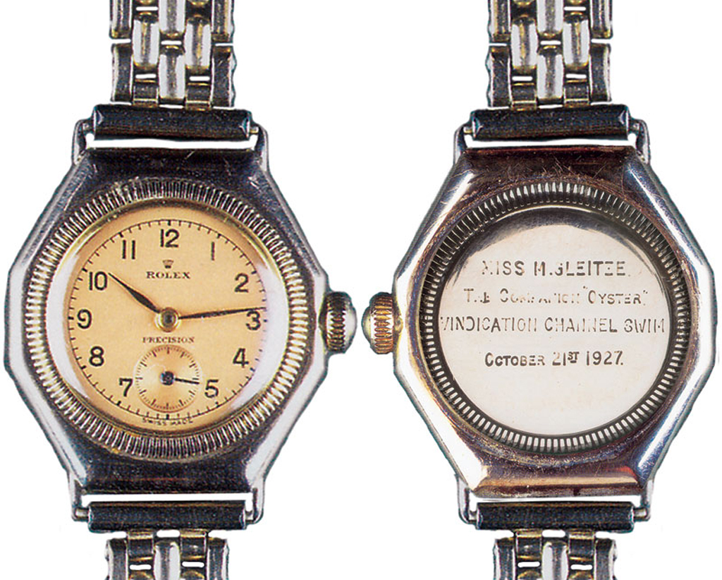 marketing and rolex watch channel In the first major marketing coup to come after the introduction of the oyster, rolex asked pretty mercedes gleitze—the first woman to swim the english channel—to wear one on a well-publicized channel swim.
