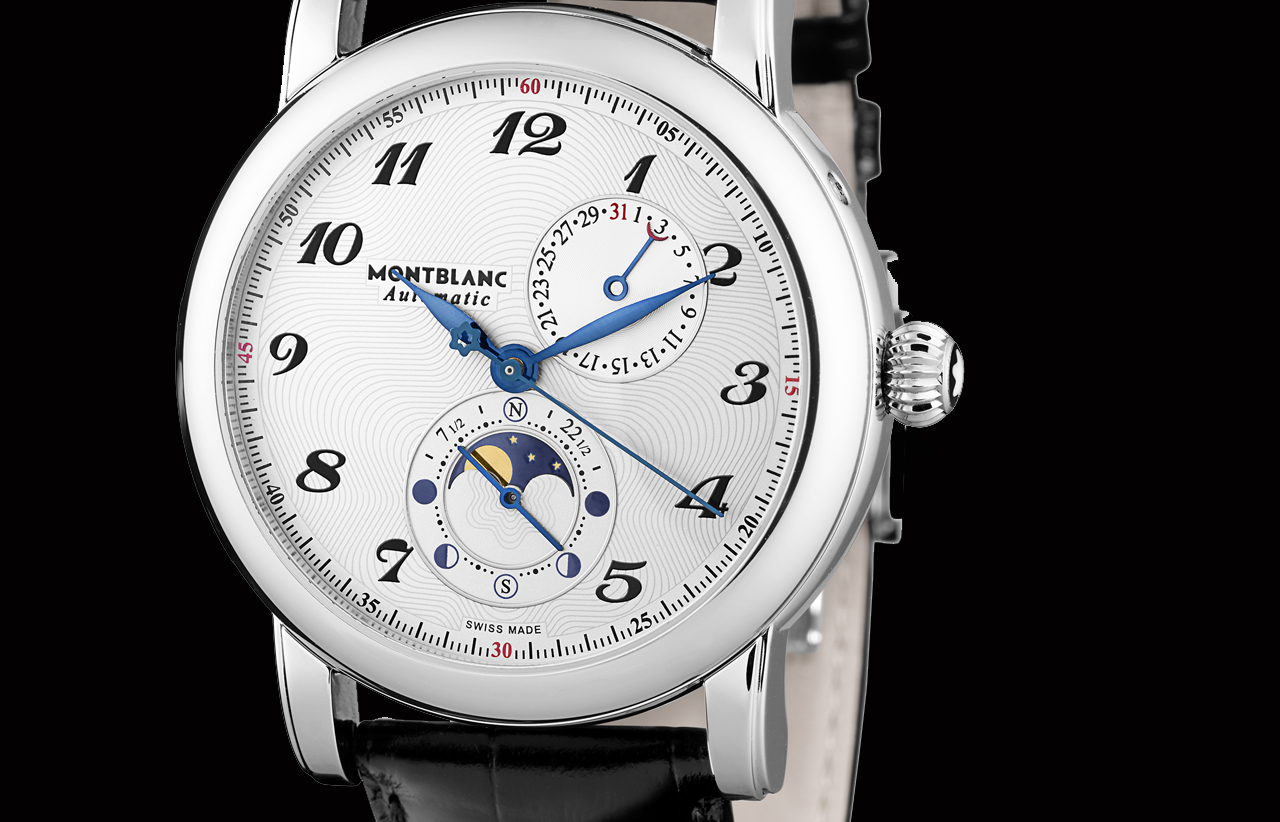 Pre sihh 2014 montblanc star twin moonphase watch test for Catalogo montblanc