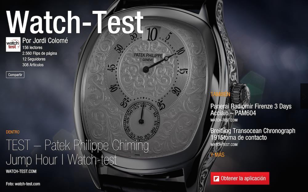Watch-Test en Flipboard