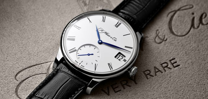 H. Moser Venturer Big Date White Gold