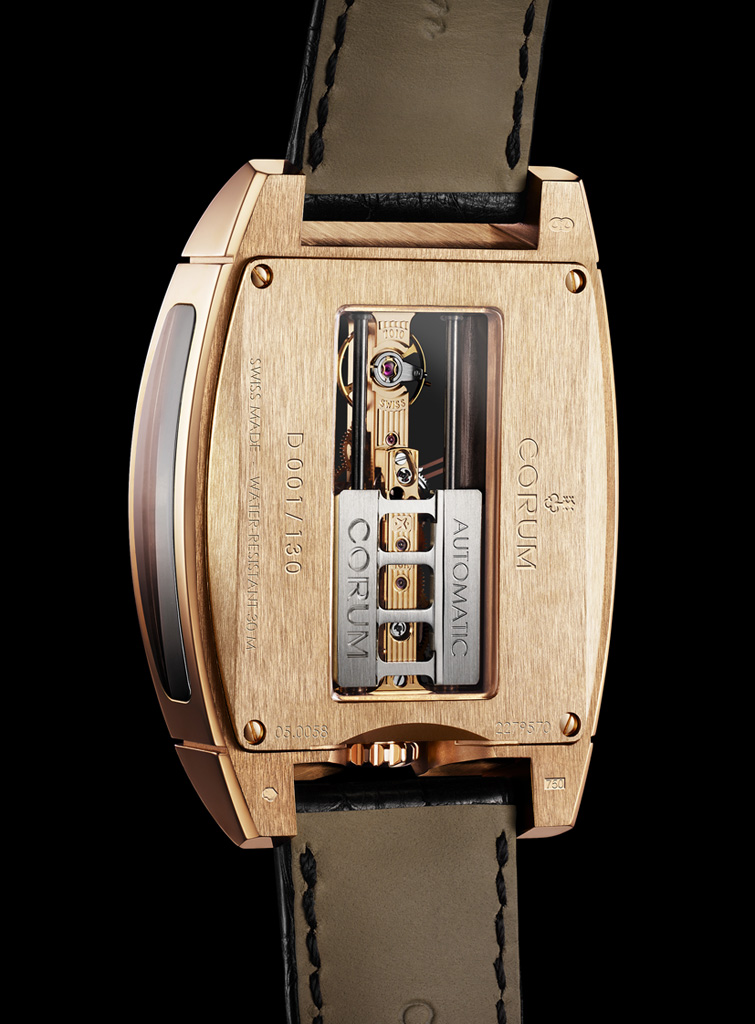Corum Golden Bridge Automatic back
