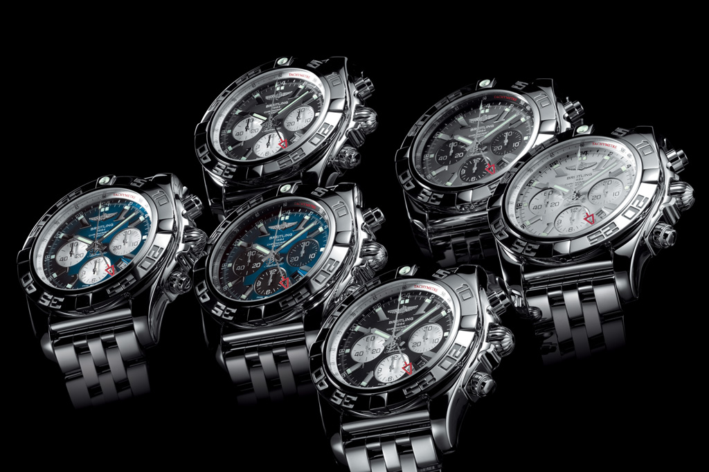 Breitling Chronomat GMT familly