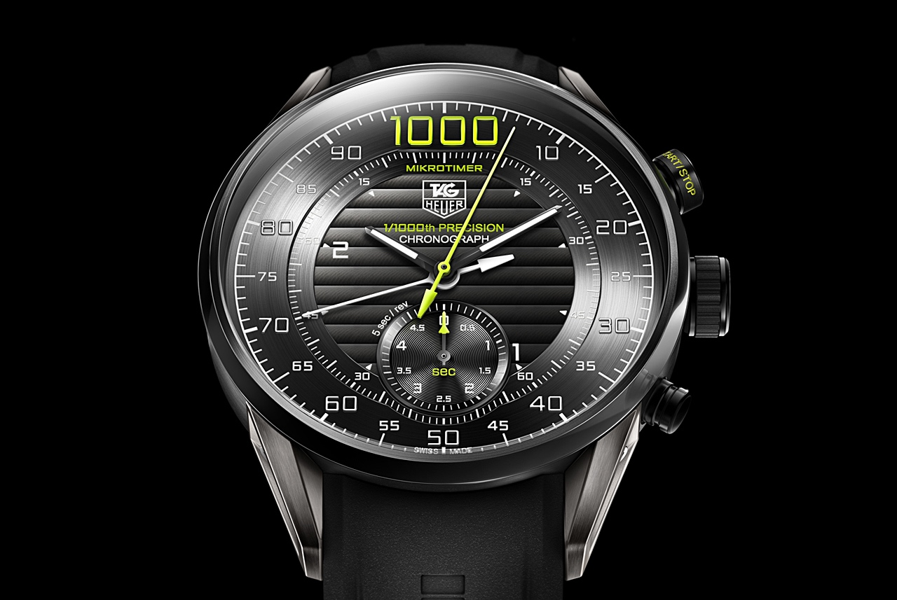 TAG Heuer Mikrotimer Flying 1000 - front