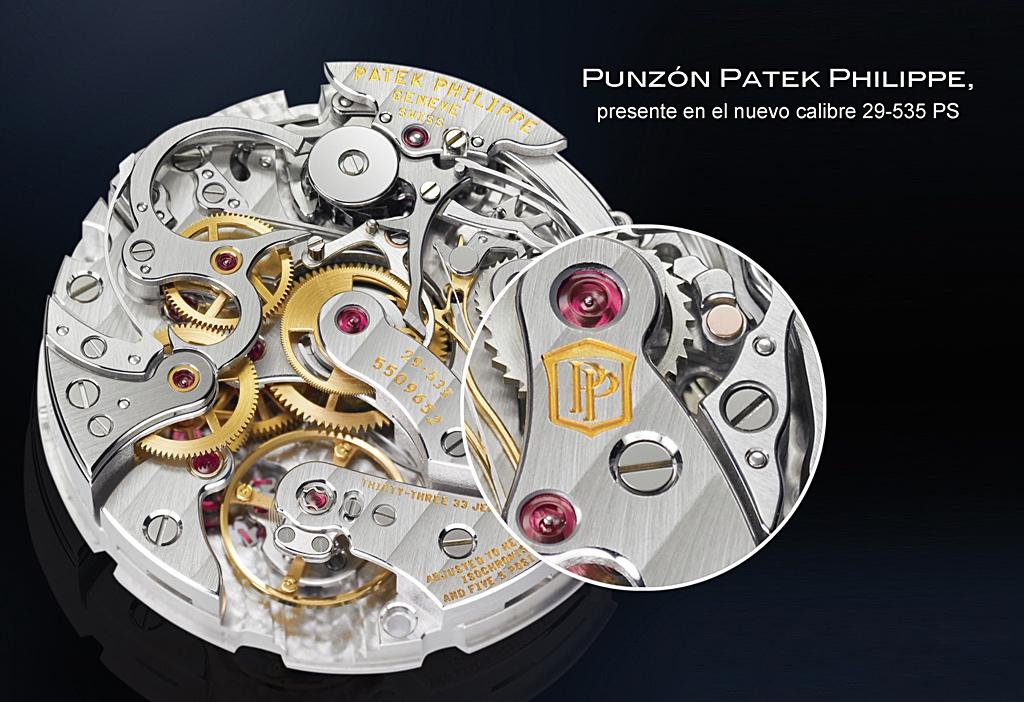 Punzón Patek Philippe - detalle