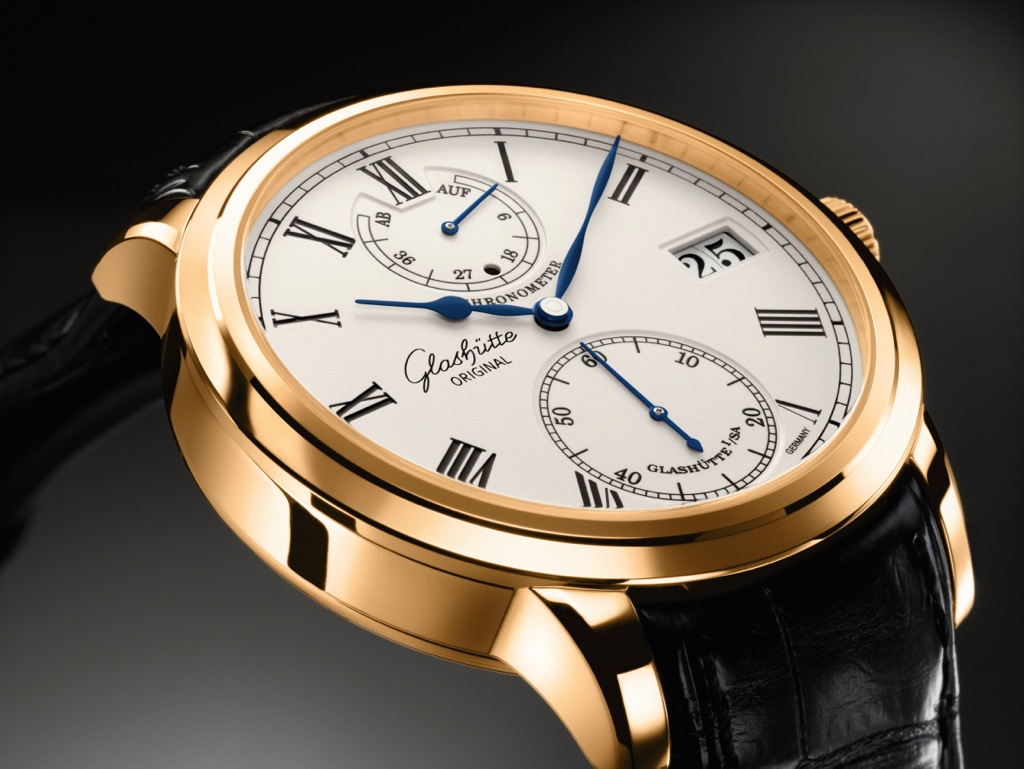 Glashutte Original Senator Chronometer 2009 Pink Gold