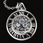 NOVEDAD – Cartier Reloj de Bolsillo Grande Complication Squelette