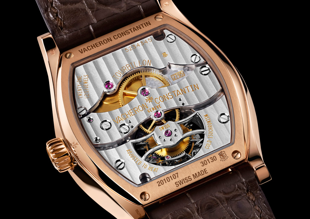 Vacheron Malte Tourbillon rear
