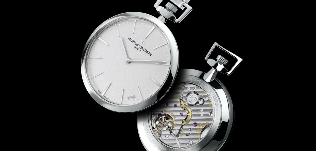 Vacheron Patrimony Pocket Watch platinum