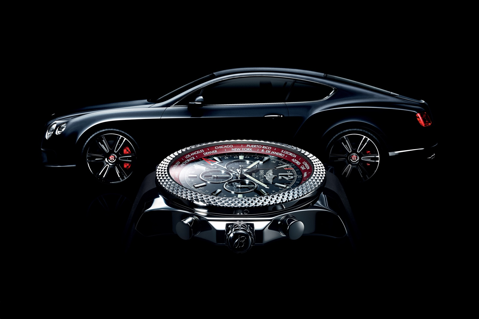 Breitling for Bentley GMT cover