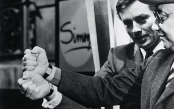 Alain Delon y Jean-Pierre Melville