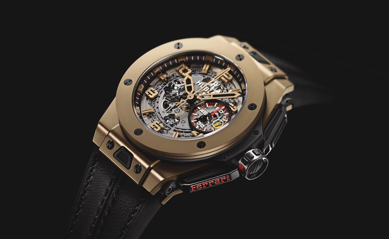 Big Bang Ferrari Magic Gold