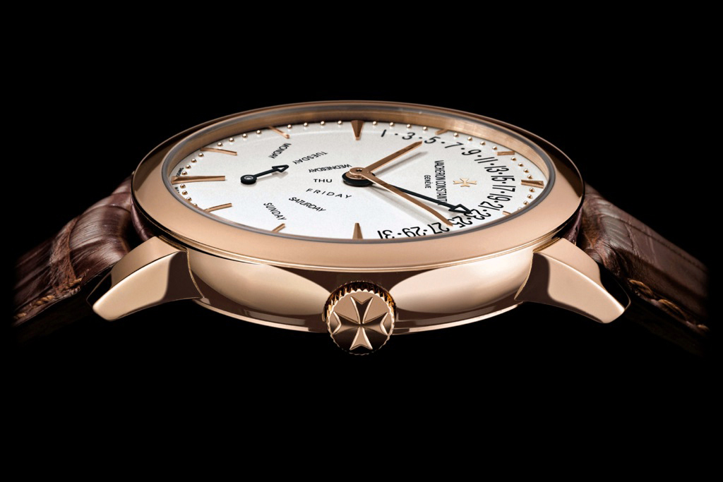 Vacheron Patrimony Contemporaine Bi-Retrograde profil