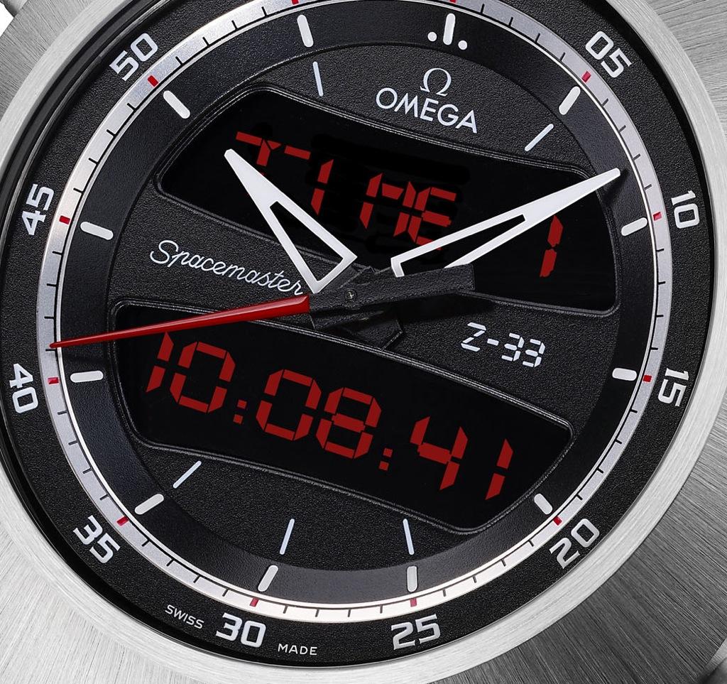 Omega Spacemaster Z-33 dial