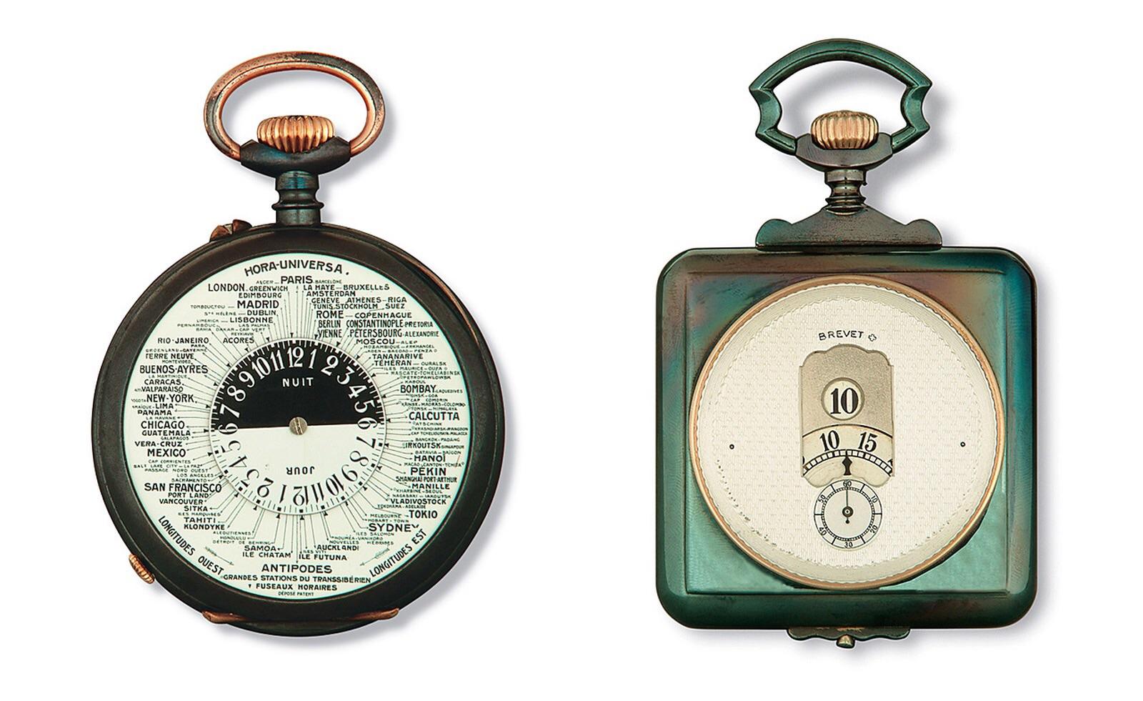 F.p. Journe steel watches exhiition