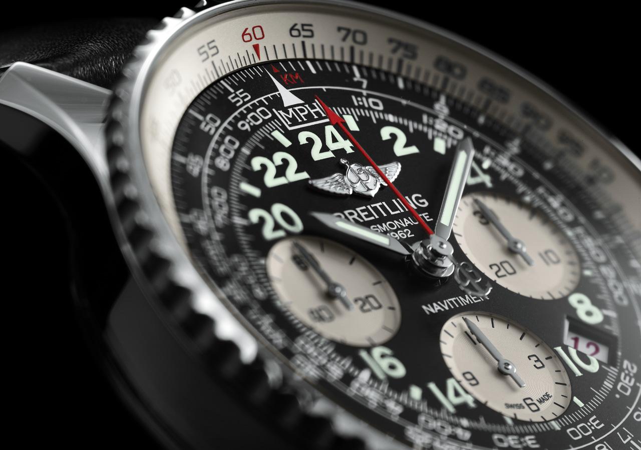 Breitling Navitimer Cosmonaute dial