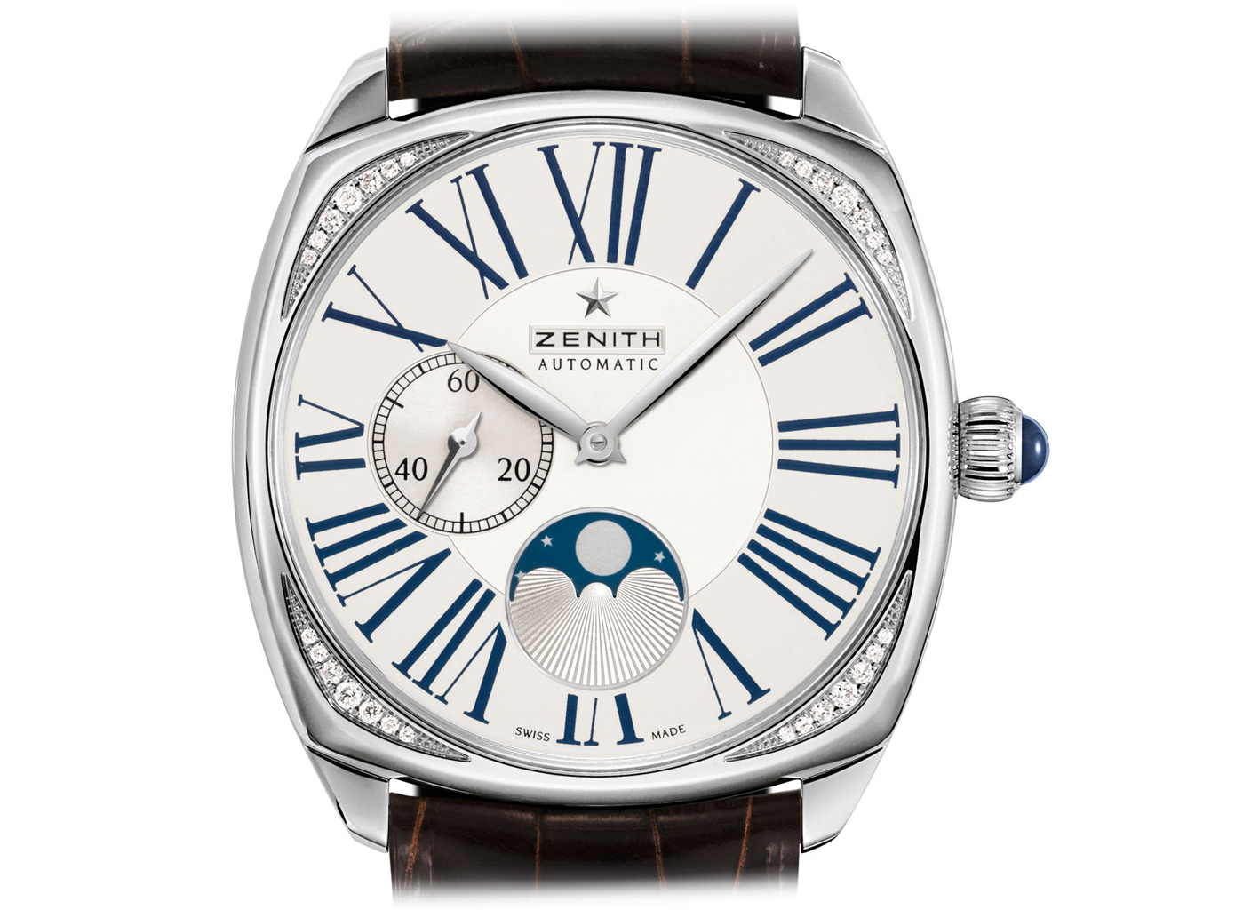 Zenith Star Moonphase steel