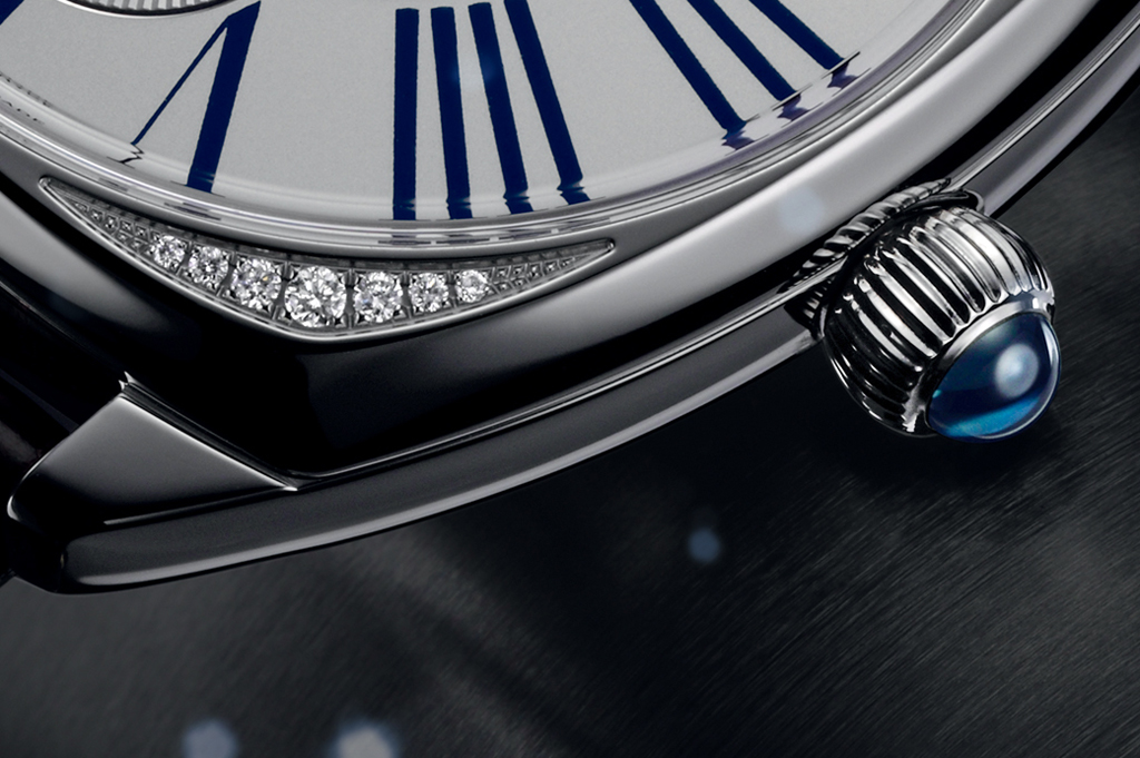 Zenith Star Moonphase detail
