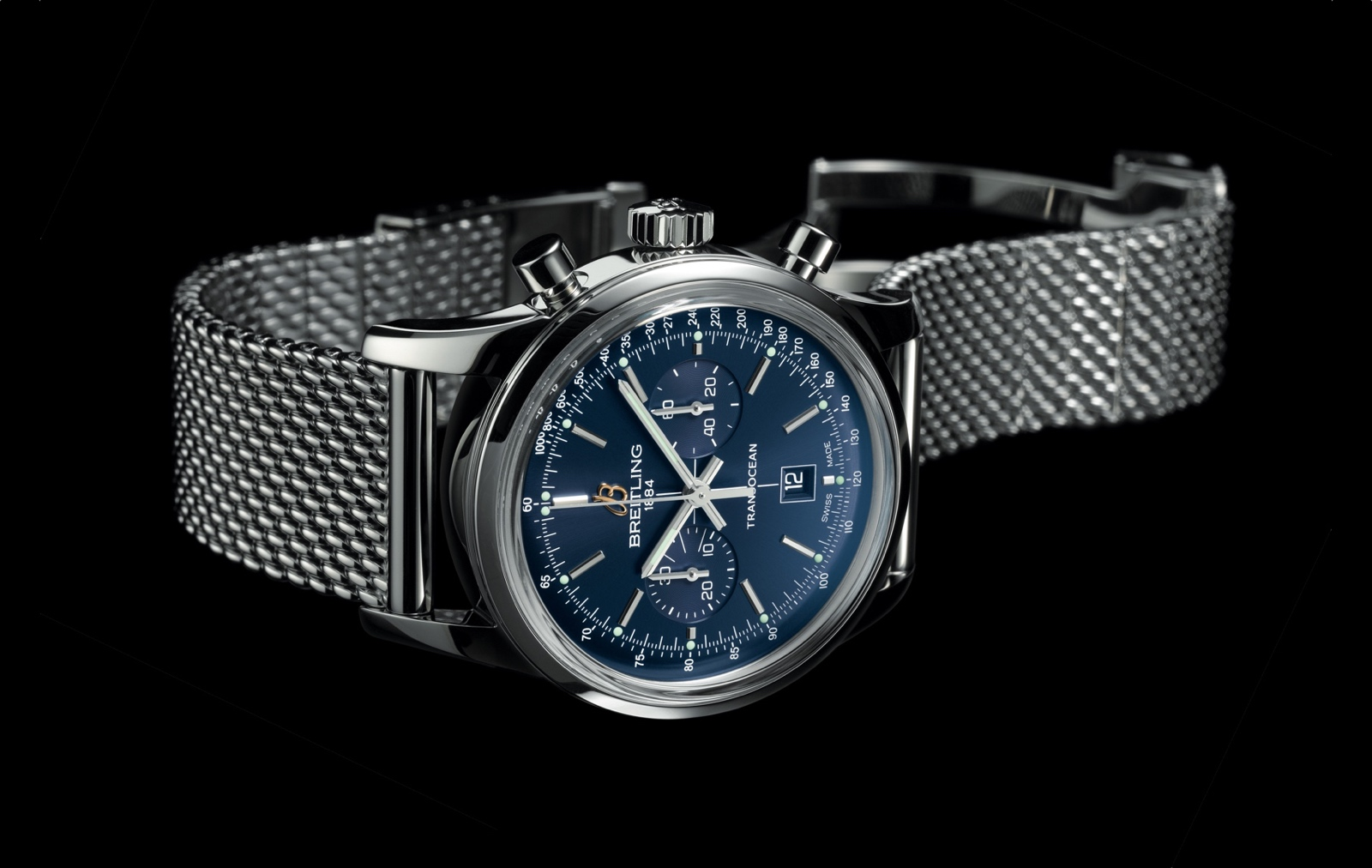 Breitling Transocean Chronograph 38 cover