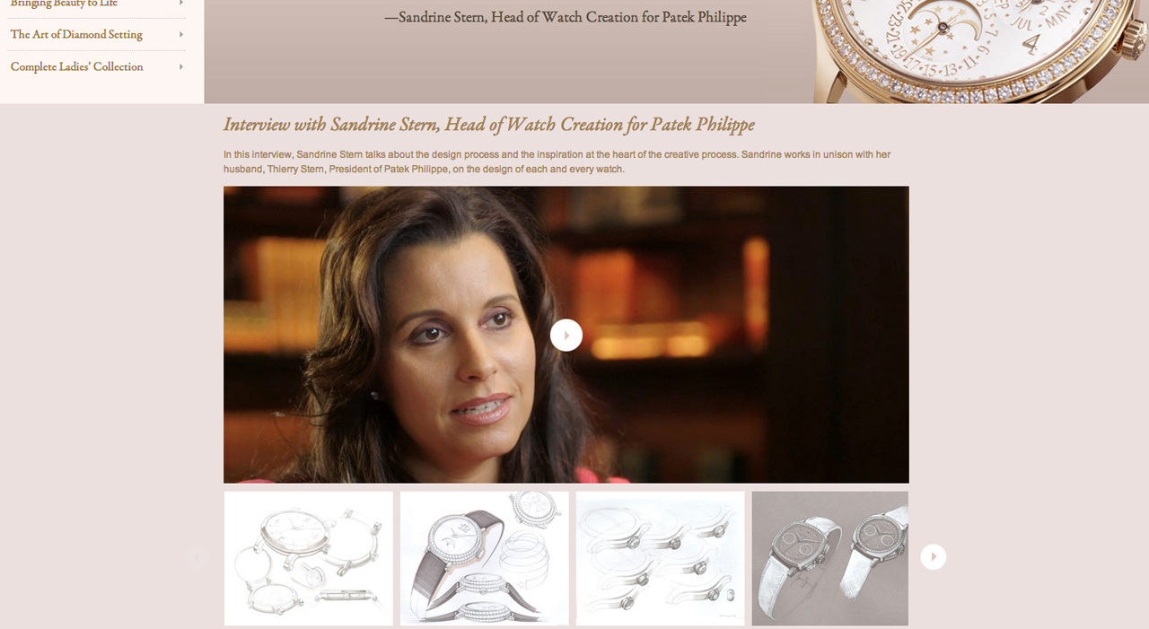 Patek Philippe Ladies interview