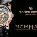 Hommage Minute Repeater.<br/>Tributo de Roger Dubuis a la repetición de minutos.