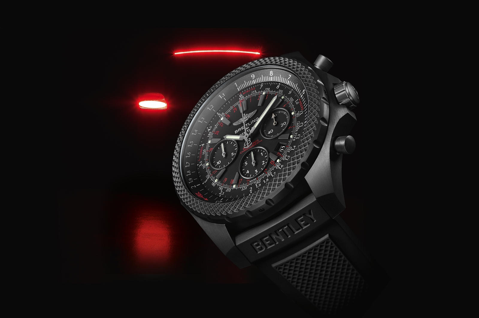 Breitling Bentley Light Body Midnight Carbon