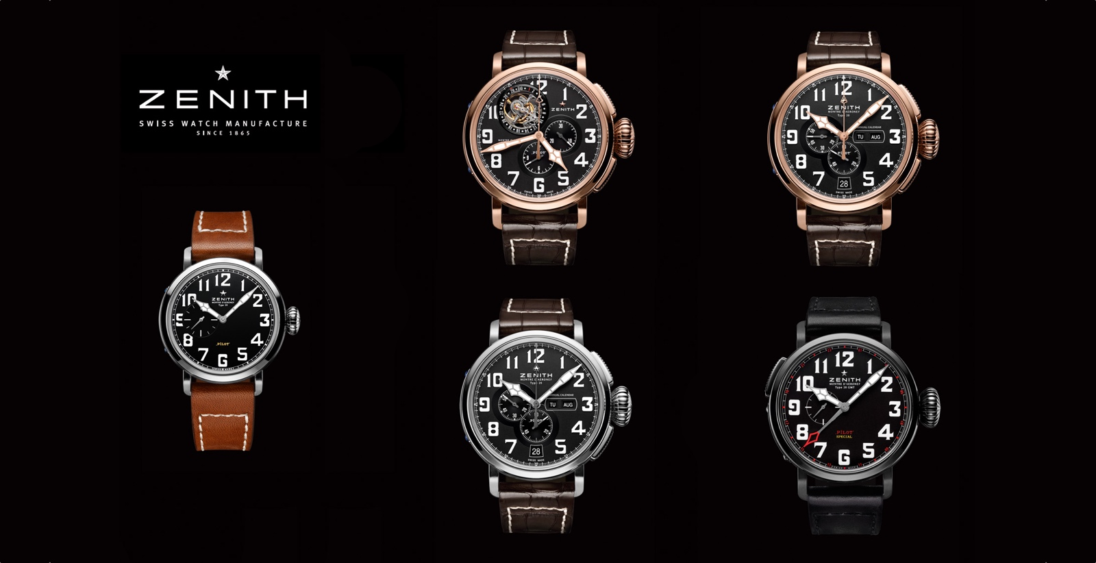 Zenith Baselworld 2013 cover