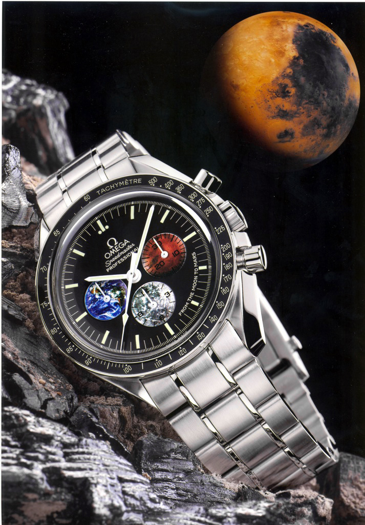 "Speedmaster Professional Edición ""From the Moon to Mars"" (Ref. 3577.50.00)"