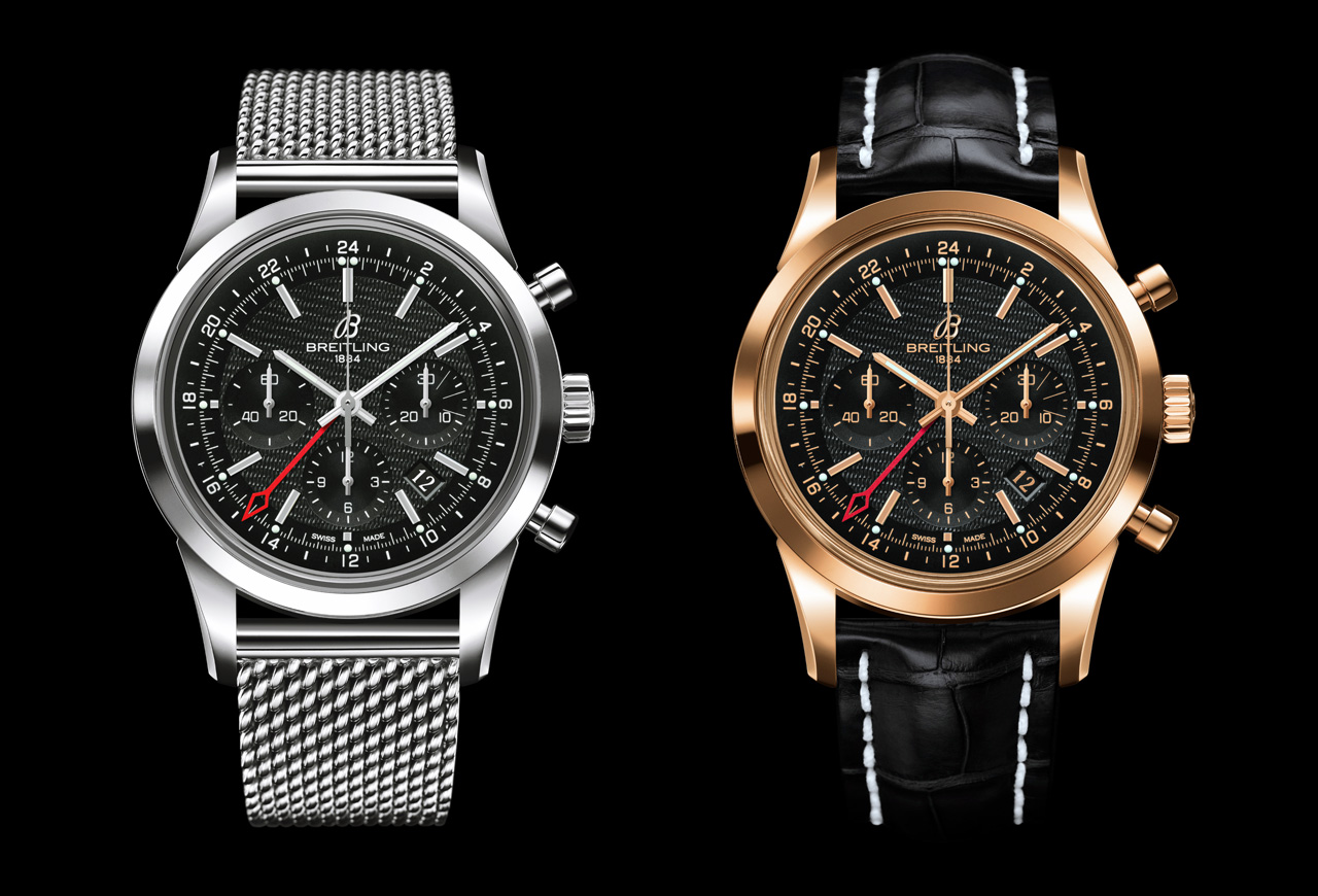 BREITLING transocean chronograph gmt versiones