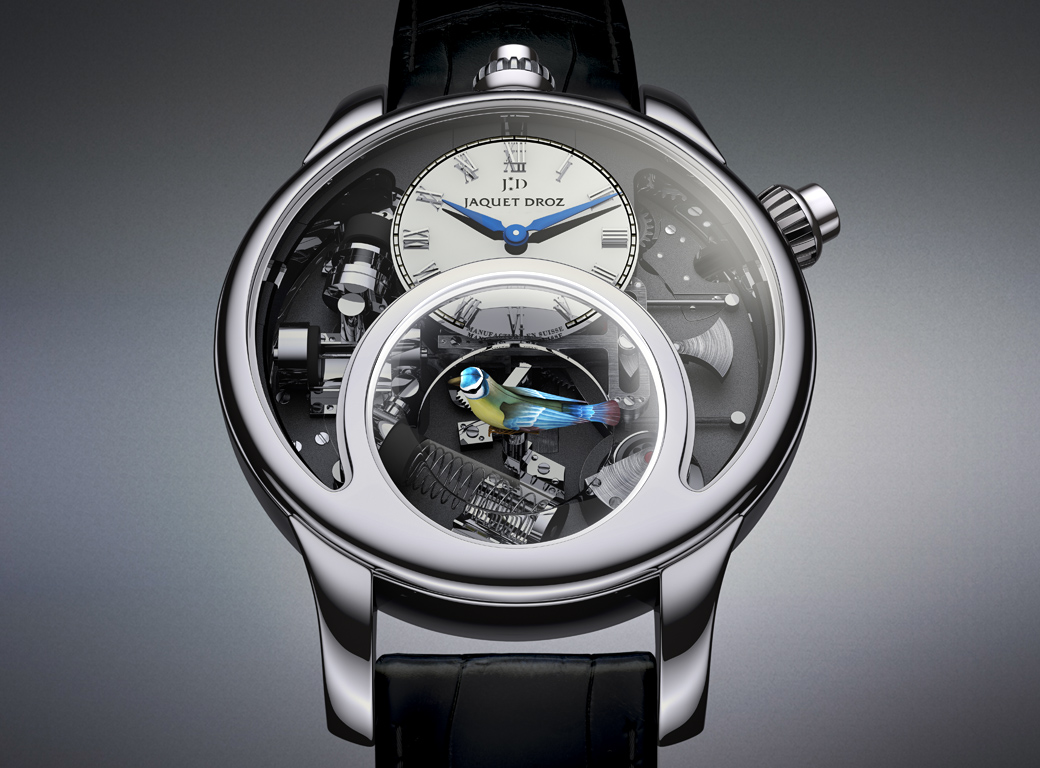 "Jaquet Droz ""The Charming Bird"" front"