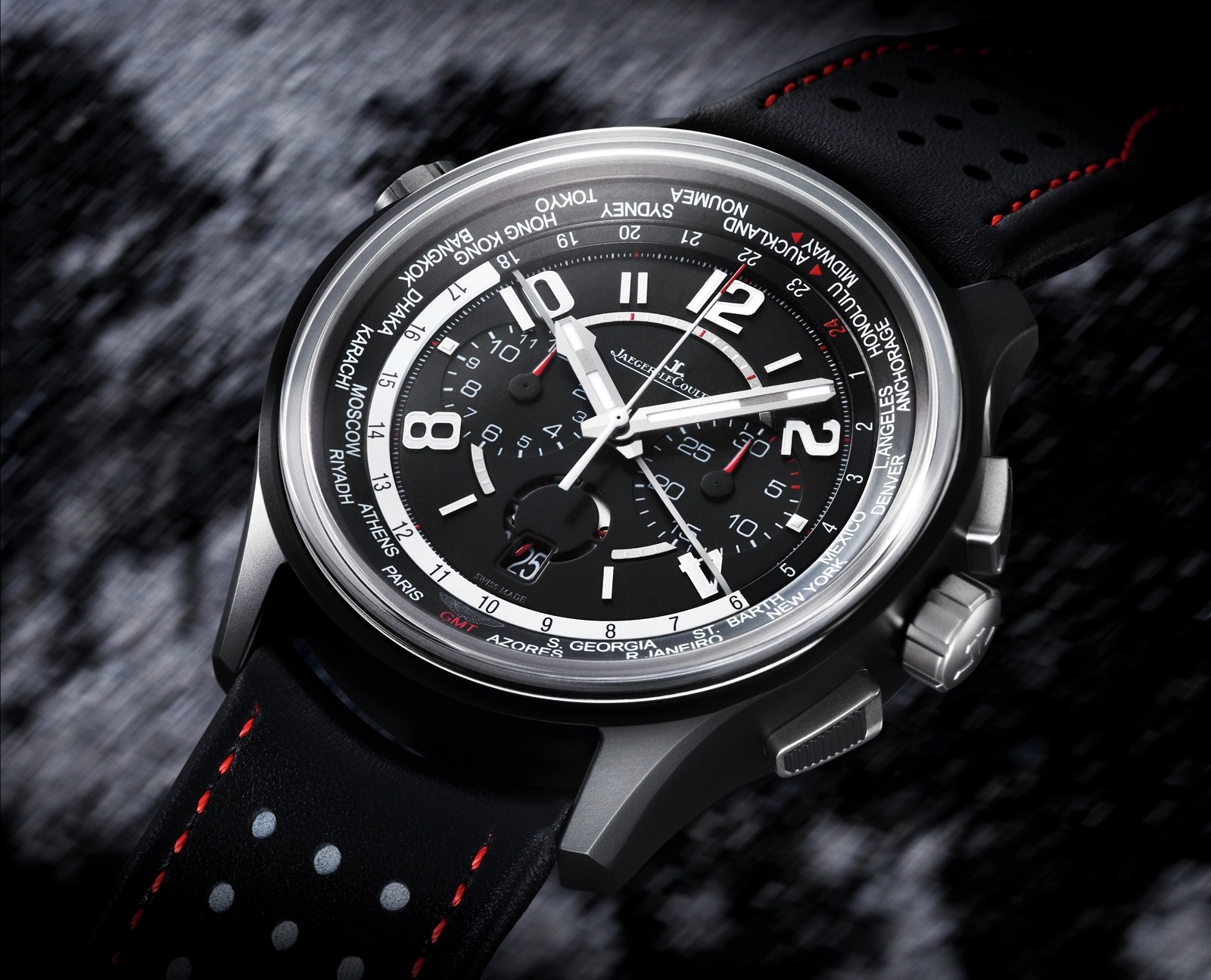 Jaeger AMVOX5 World Chronograph Cermet