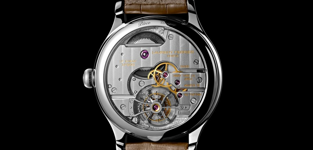 Laurent Ferrier Only Watch 2013 Back