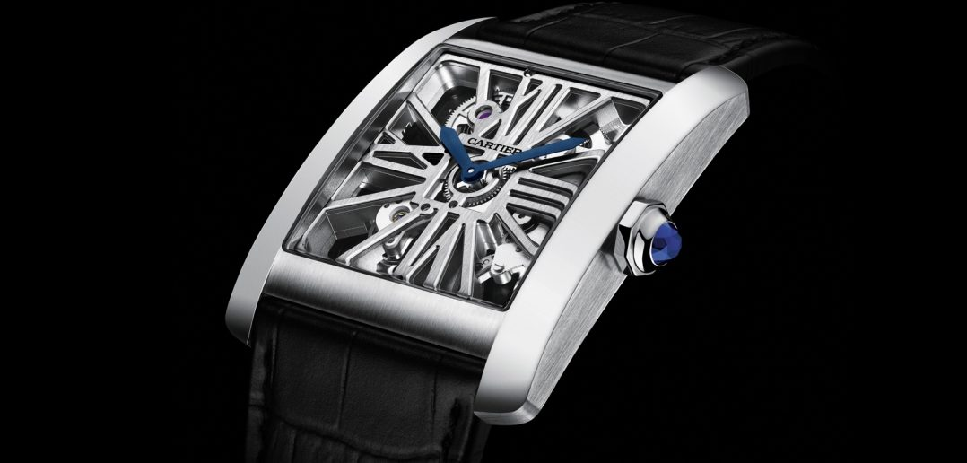 CARTIER Tank MC Skeleton