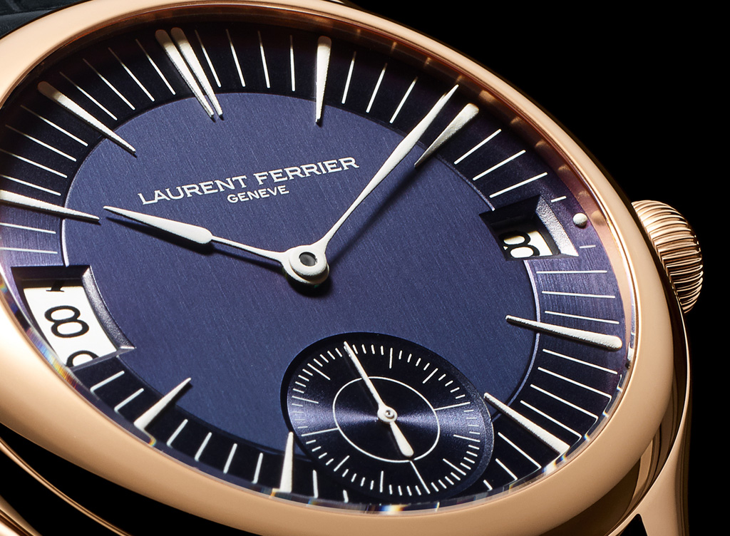 Laurent Ferrier Galet Traveller dial