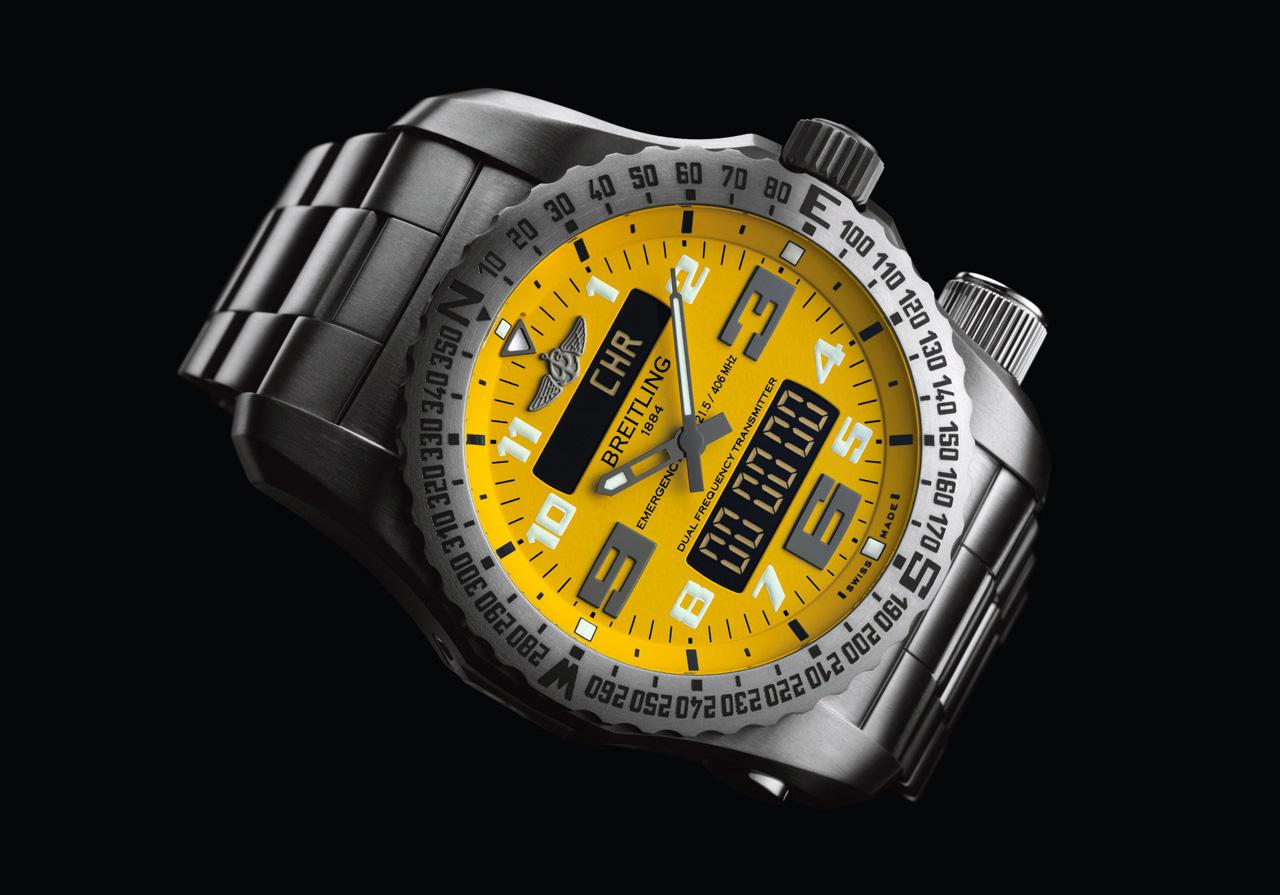 Breitling Emergency II dial