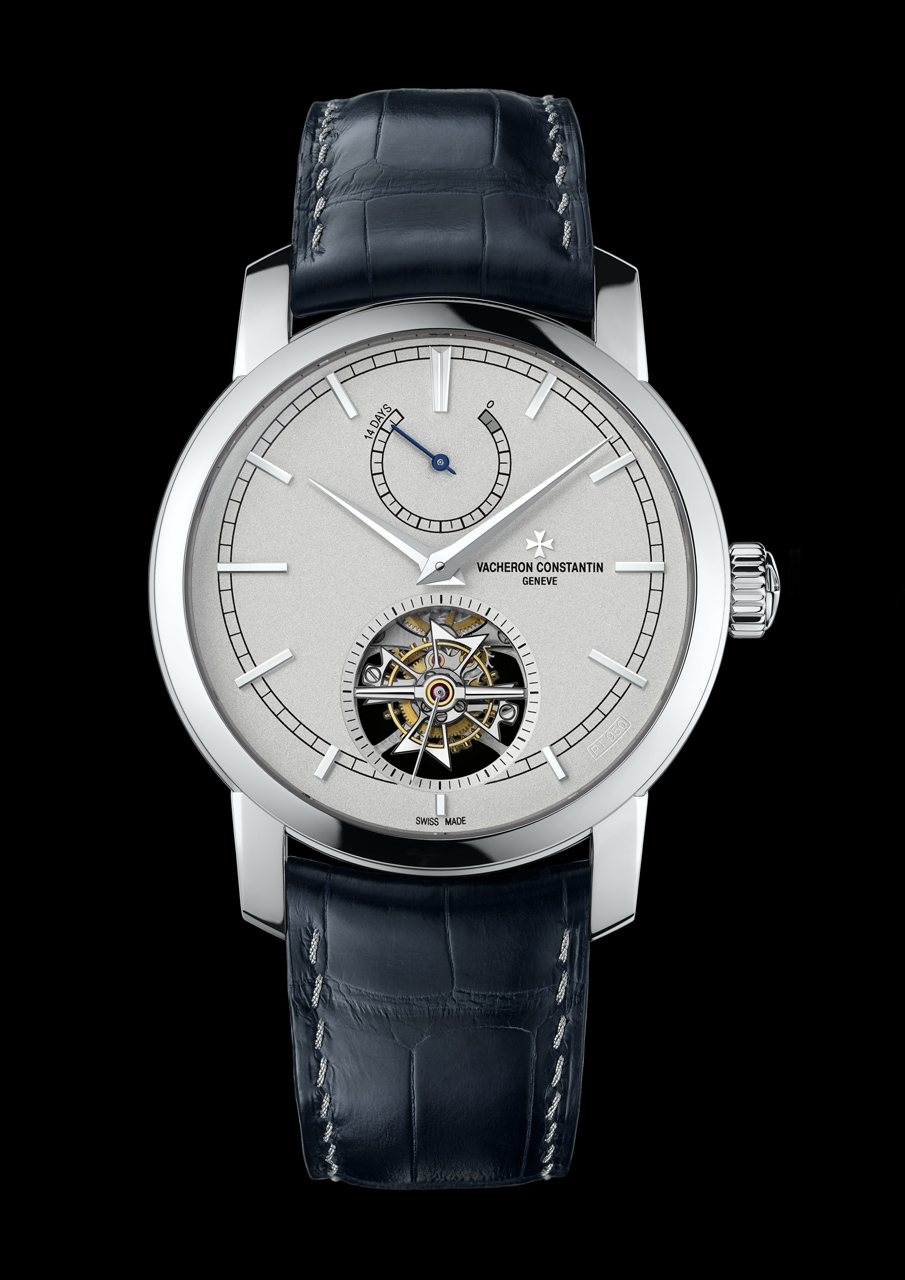 Vacheron Constantin Patrimony Traditionnelle tourbillon 14 jours front