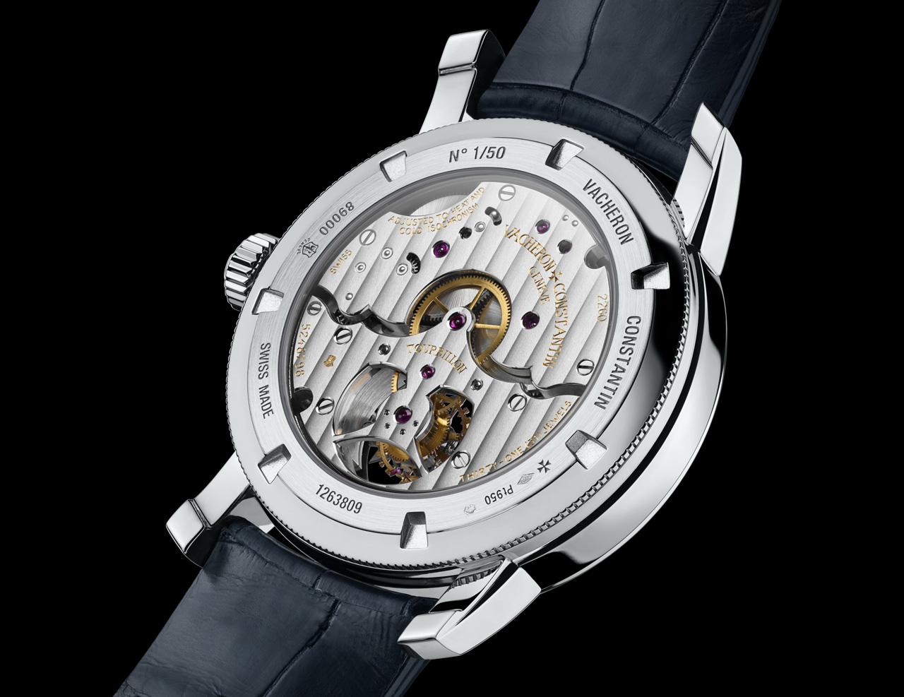 Vacheron Constantin Patrimony Traditionnelle tourbillon 14 jours back