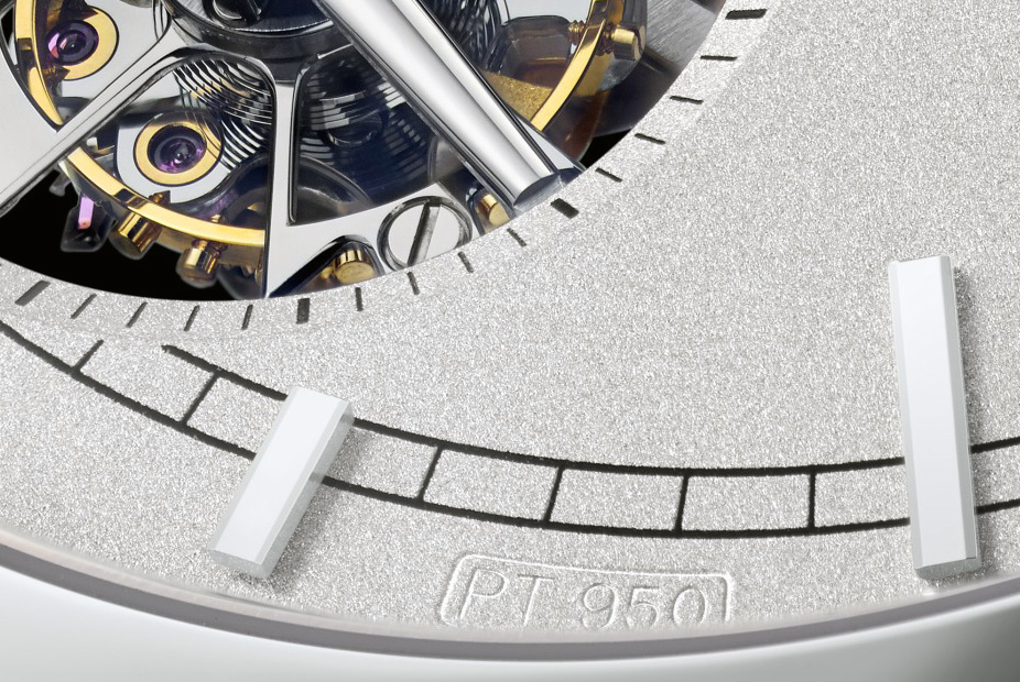Vacheron Constantin Patrimony Traditionnelle tourbillon 14 jours dial