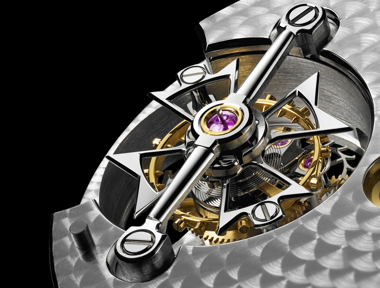 Vacheron Constantin Patrimony Traditionnelle tourbillon 14 jours detail