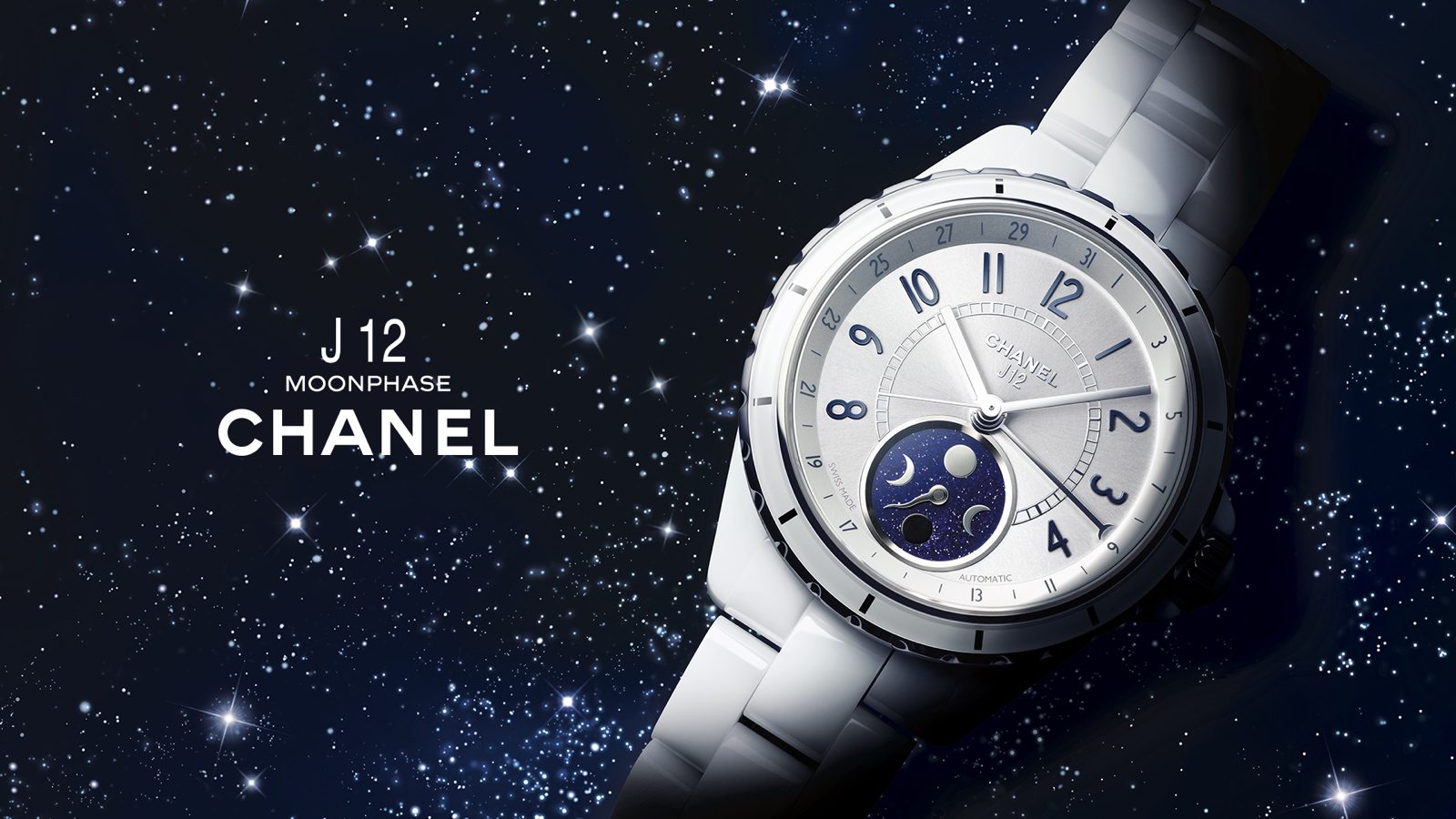 Chanel J12 Moonphase