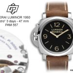 Pre-SIHH 2014 – Panerai Luminor 1950 «destro» 3 days – PAM 557