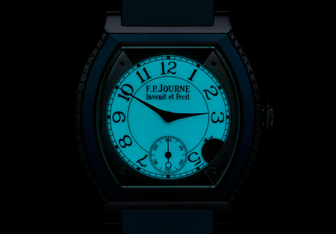 F.P. Journe Elegante night dial