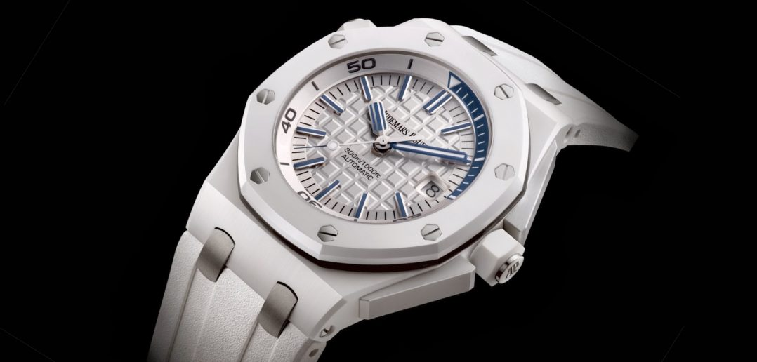 Royal Oak Offshore Diver white ceramic