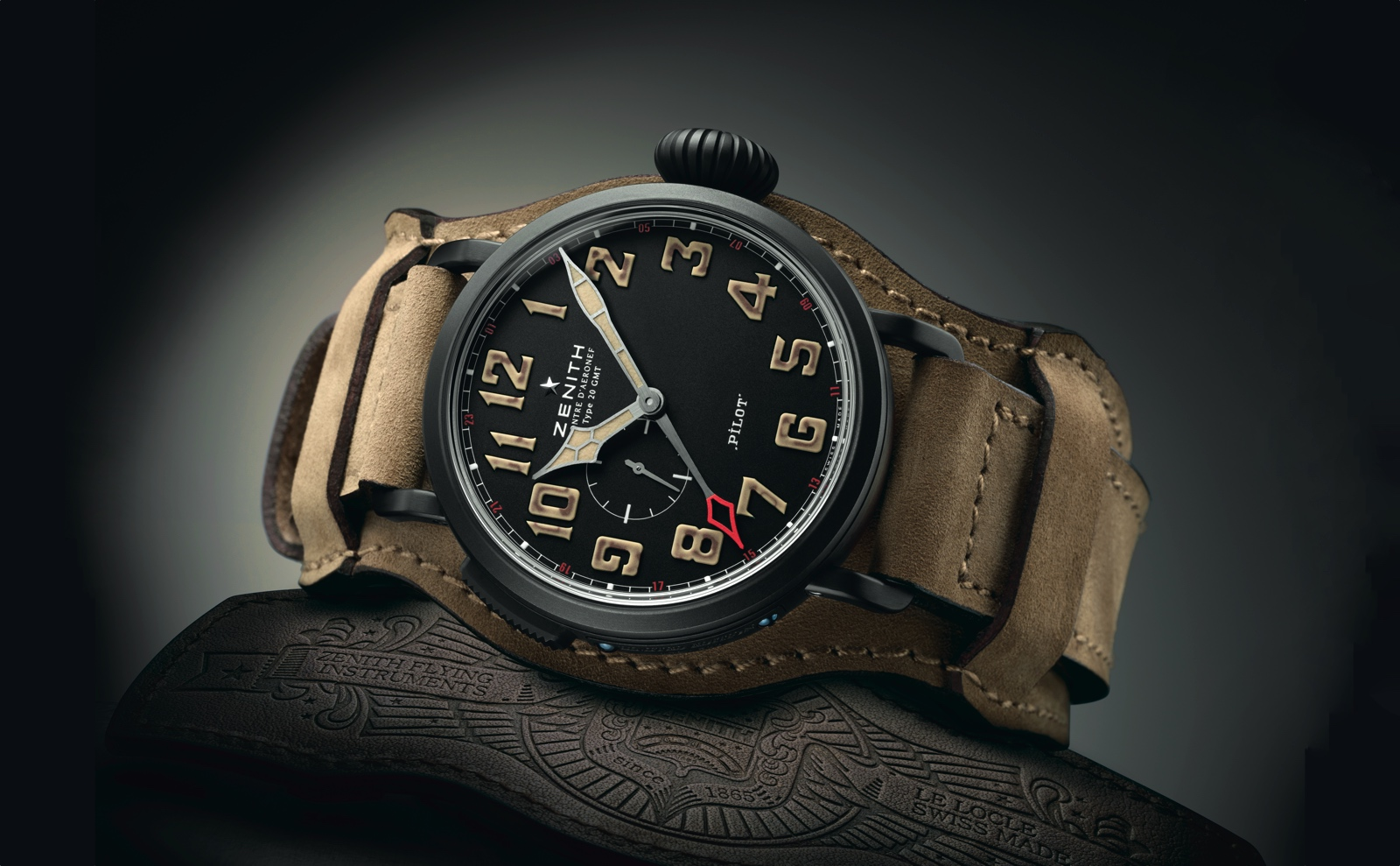 Zenith Pilot Type 20 GMT 1903 cover