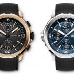 Darwin y Cousteau inspiran dos de las Ediciones Especiales de los nuevos Aquatimer de IWC.