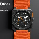 Pre-Basel 2014 – Bell & Ross BR03-94 Carbon Orange