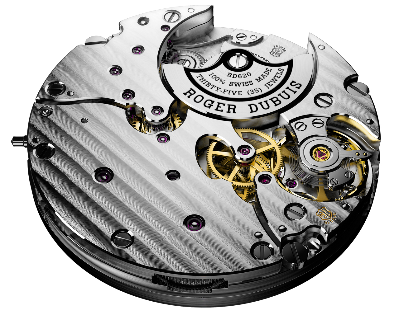 MANUFACTURE ROGER DUBUIS - Movement RD620