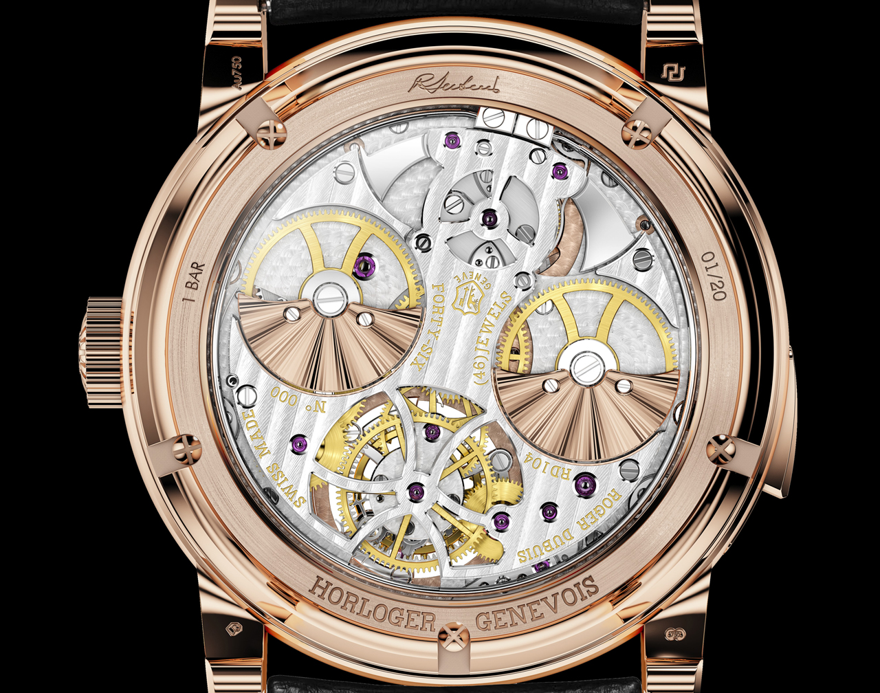 MANUFACTURE ROGER DUBUIS - Hommage RŽpŽtition Minutes HO45 104