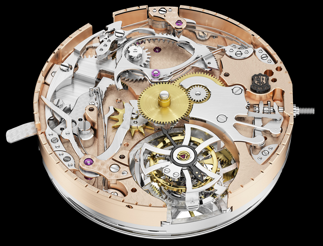 MANUFACTURE ROGER DUBUIS - RŽpŽtition Minutes RD104