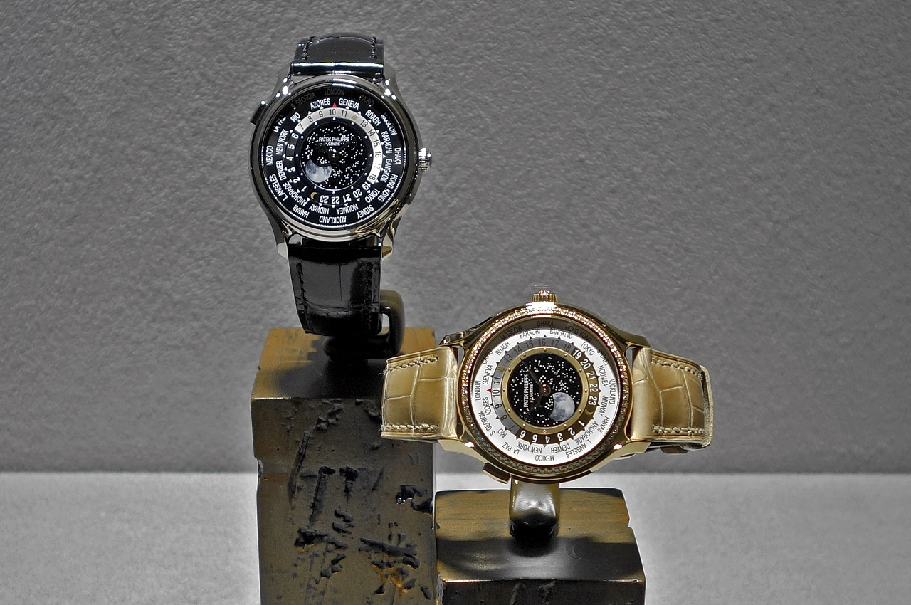 Patek Philippe 175 Aniversary 5575 & 7175  World Time Moon