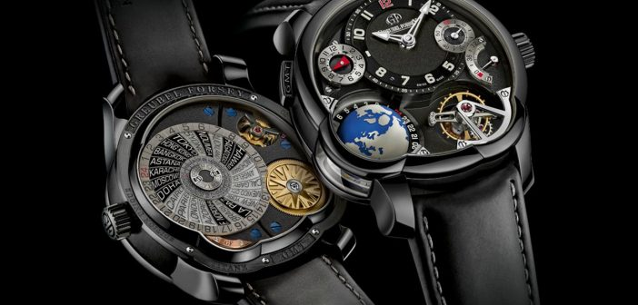 Pre-SIHH – Greubel Forsey GMT Black